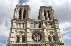 Нотр-Дам, Париж Стоковое Изображение