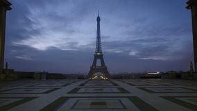 Нотр-Дам de Париж и Река Сена сток-видео