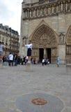 Нотр-Дам de Париж, франция Стоковая Фотография RF