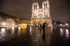 Нотр-Дам de Париж Стоковая Фотография
