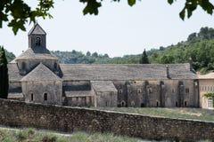 Нотр-Дам de Senanque Аббатство в Провансали, Франции Стоковая Фотография RF