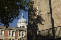 Ноттингем, Ноттингемшир, Великобритания: Октябрь 2018: Купол городской ратуши стоковое изображение