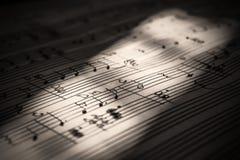 Ноты, книги музыки, музыка на бумаге Стоковые Фото