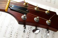 нот гитары Стоковые Изображения