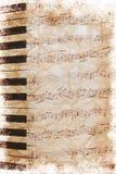 Нот листа сбора винограда Стоковое Изображение RF