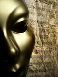 нот маски золота предпосылки Стоковые Фото