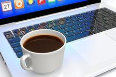 Ноутбук Стоковые Фото