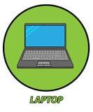 Ноутбук стоковая фотография rf
