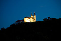 ноча аббатства tihany Стоковое Фото