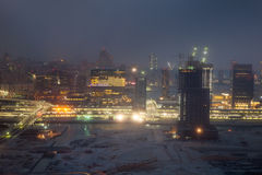 Ноча Абу-Даби Стоковые Фото