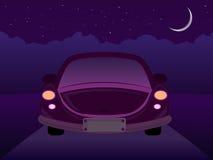 ноча автомобиля Стоковые Фото