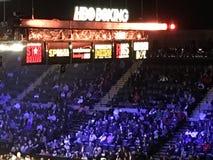 Ноча бокса на Колизее мемориала Нассау Стоковые Фотографии RF
