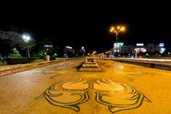 Ноча Бухареста Стоковые Фотографии RF