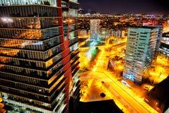 Ноча в Барселона Стоковые Фото