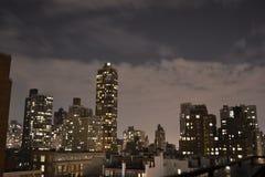 Ноча в верхнем Ист-Сайд Стоковая Фотография RF