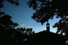 Ноча в сельской местности Стоковая Фотография RF