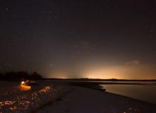 Ноча в 10 тысяч островах Стоковые Фото