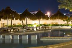 Ноча в феврале в Sharm El Sheikh Стоковые Фотографии RF