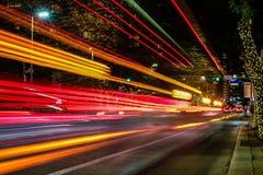 Ноча в центре города Стоковое Изображение