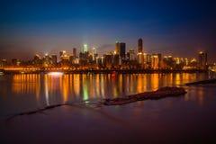 Ноча в Чунцине Стоковое Фото