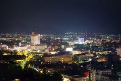 Ноча в hin hua Таиланда Стоковые Фото