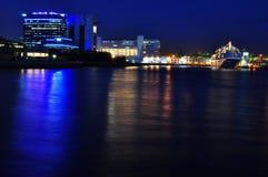 ноча гавани Стоковое фото RF