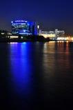 ноча гавани Стоковые Фотографии RF