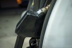 Ноча газового насоса Стоковое Фото