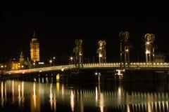 ноча голландеца городского пейзажа Стоковое Изображение RF