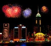Ноча Гонконга Стоковое Фото