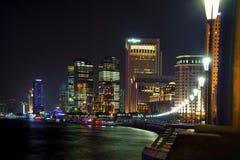 Ноча горизонта Шанхая Стоковые Фото