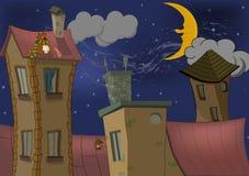 ноча города Стоковые Изображения RF