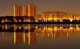 ноча города Стоковое Изображение