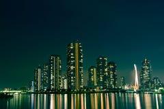 ноча города Стоковые Фото