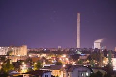 ноча города Стоковые Фотографии RF