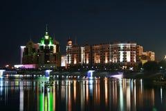 ноча города Стоковое фото RF