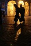 ноча городского пейзажа Стоковое Фото