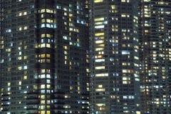 ноча города предпосылки Стоковые Фото