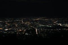 Ноча города Chiangmai Стоковое Изображение