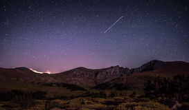 Ноча горы Стоковые Изображения RF
