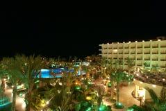ноча гостиницы Стоковое Изображение