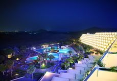 ноча гостиницы Стоковая Фотография RF