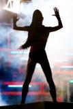 ноча девушки клуба Стоковое фото RF