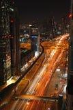 ноча Дубай Стоковая Фотография RF