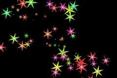 ноча звёздная иллюстрация вектора