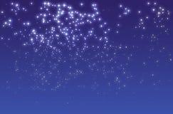 ноча звёздная Стоковое Фото