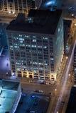 ноча зданий Стоковые Фотографии RF