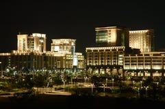 ноча зданий стоковые фото