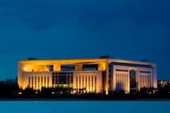 ноча зданий стоковое изображение rf