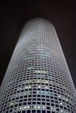 ноча здания круглая Стоковые Фотографии RF